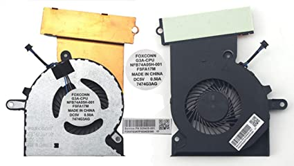 Amazon com: SYWpcparts G3A-CPU Cooling Fan 929455-001