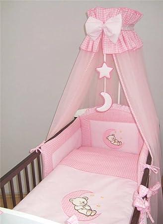 10 Stück Baby Bettwäsche Set Für 120 X 60 Cm Für Kinderbett Moon