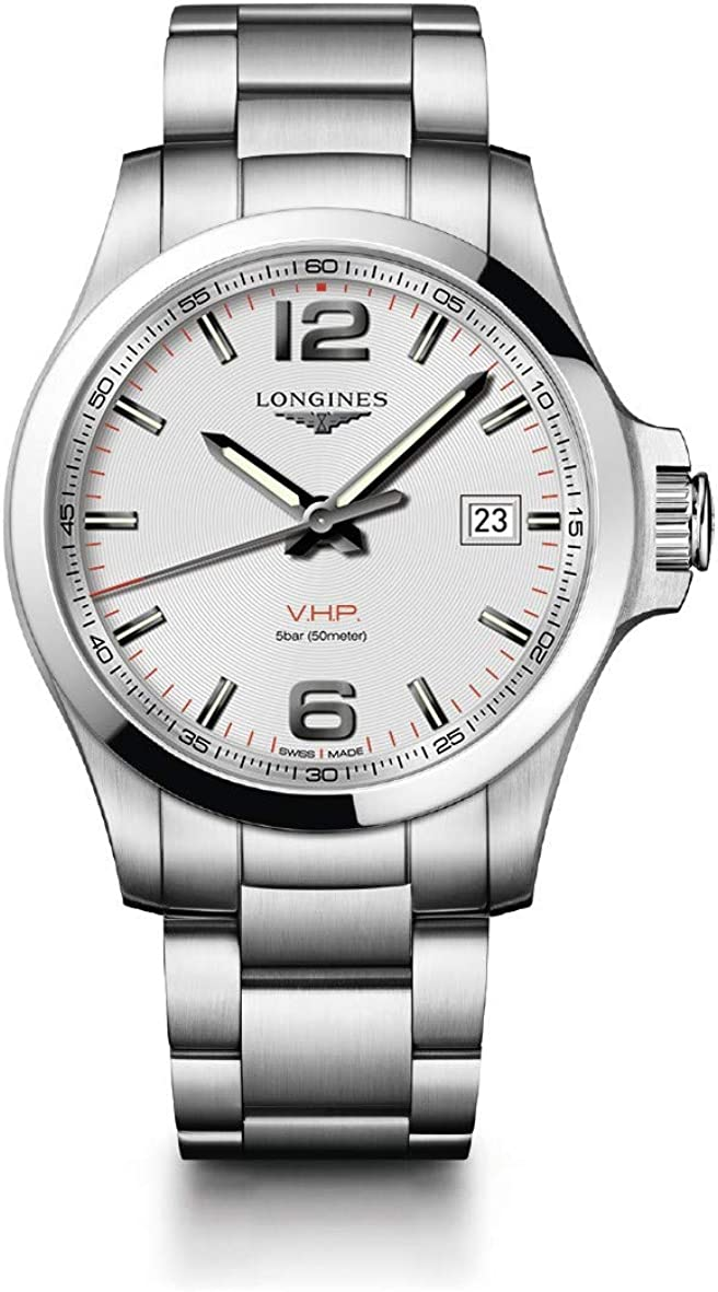 Longines Conquest L3.726.4.76.6 - Reloj de pulsera (43 mm)