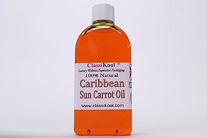 100ml Caribe sol zanahoria & Vitamina E Aceite para de profundidad Fab marró
