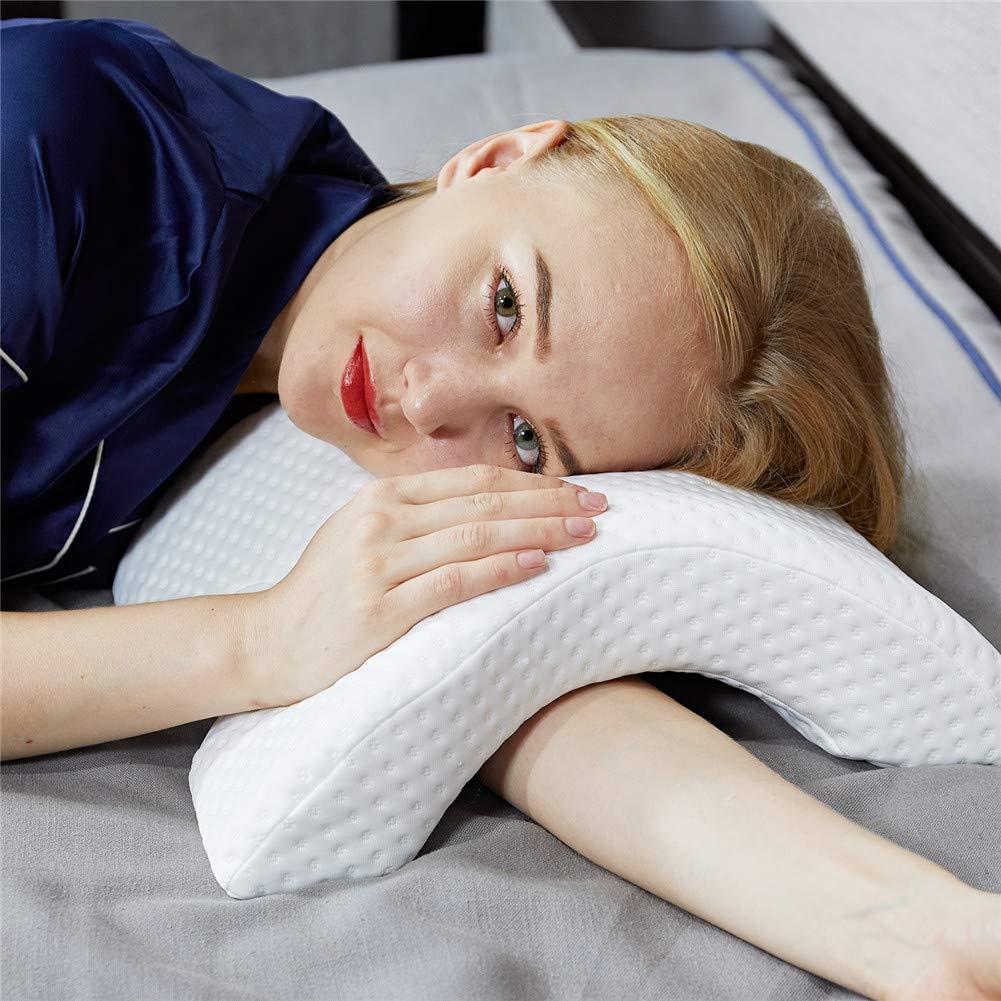Evitare Che Il Braccio Si Intorpidire. Coppie Cuscino cervicale per Massaggio Profondo del Collo DEALYU Cuscino in Memory Foam Cuscino ad Arco