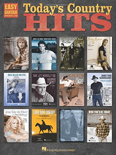 Read Online Today's Country Hits (Easy Guitar with Notes & Tab) pdf
