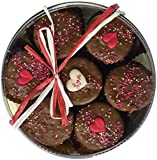 #1: Milk Chocolate Dipped Oreo Cookies Decorated with Love 7 Oreo Assortment