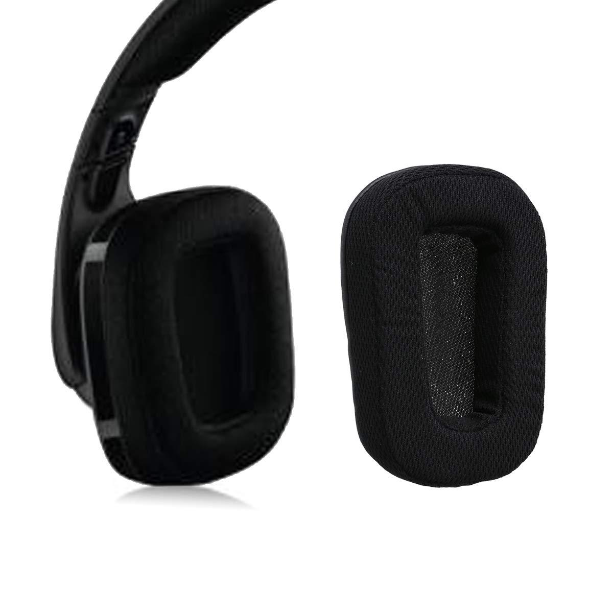 Nicecool/® Ear Pads auricolari di ricambio per Logitech G933/G633/Artemis Spectrum Surround Gaming Headset cuffie da orecchio Pad//orecchio cuscino//coppe//orecchio copertura