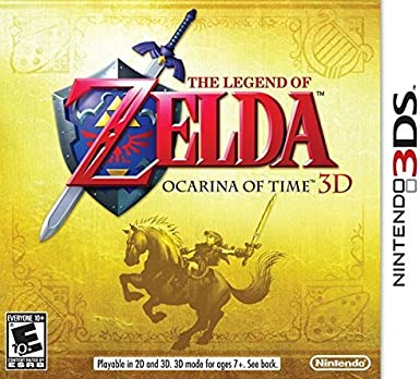 Nintendo The Legend of Zelda: Ocarina of Time 3D Nintendo 3DS ...