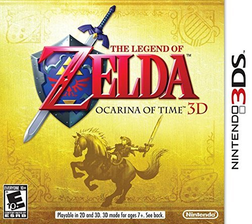 Amazon Com The Legend Of Zelda Ocarina Of Time 3d Video Games