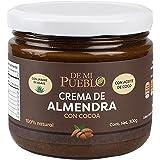 Crema De Almendra Natural con Cocoa (Sin Azúcar) (Sabor Chocolate) 300 g