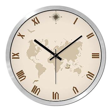 wall clocks for office. Minimalist Wall Clocks,[office] Living Room Creative Clocks Modern  Mute Large Clock For Office .