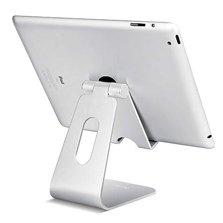 Eono Essentials Soporte Tablet, Multiángulo Soporte Tablet : Soporte Base Ajustable para Tablets para Pad 2018 Pro 10.5 / 9.7 / 12.9, Pad mini 2 3 4, ...