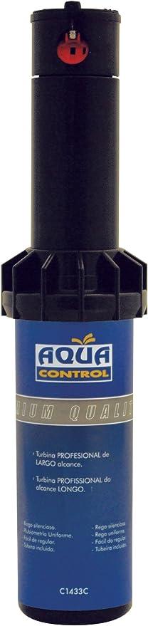 Aqua Control C1433C - Turbina de riego, de 8 a 12 metros de alcance.: Amazon.es: Jardín