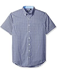 Men's Big and Tall Advantage Performance Poplin Short Sleeve Shirt