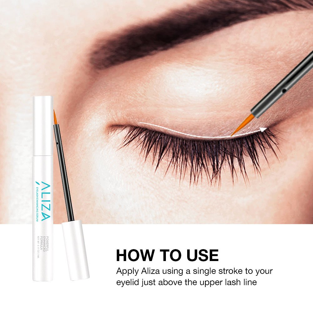 Amazon Aliza Naturals Eyelash Enhancing Serum To Grow Longer