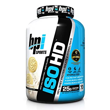 800f8c00e Amazon.com  BPI Sports ISO HD Whey Protein Isolate and Hydrolysate ...