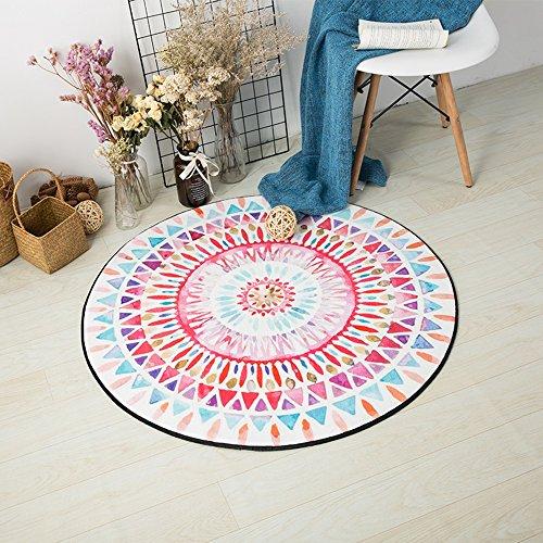 CAICOLORFUL Tappeto circolare antiscivolo ispessimento traspirante (taglia scelta multipla) tappeto interno ( dimensioni : 150cm )