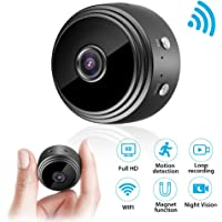 Mini cámara, cámara de vigilancia euskDE Wifi Batería