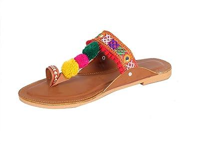 7d1abda2144 Panahi Party Office Ethnic Footwear Slipper Sandals for Women
