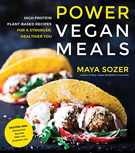 Power Vegan Meals: High Protein Plant-Based Recipes for a Stronger, Healthier You