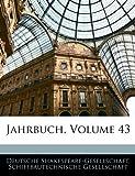 Jahrbuch, Volume 9, Deutsche Shakespeare-Gesellschaft, 114188979X