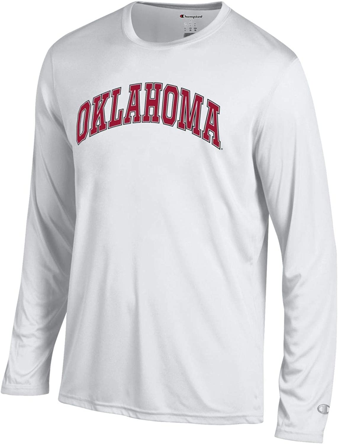 Champion NCAA Mens Athletic Long Sleeve Tee