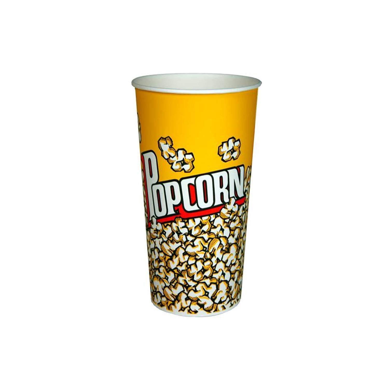 Paper Popcorn Bucket, 25 Count (24 Oz)