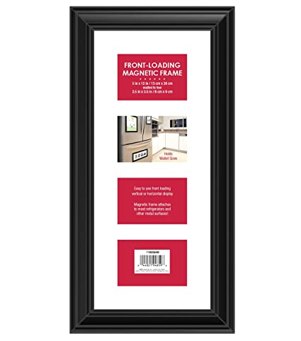 Amazon.com - MCS Front Loading Magnetic Picture Collage Frame for ...