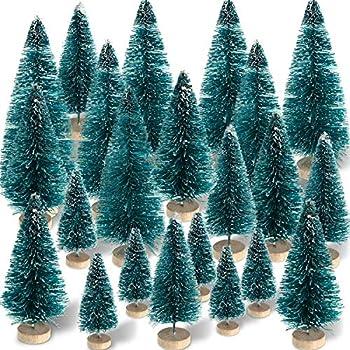 Amazon.com: Goldenlight - Mini árboles de Navidad ...