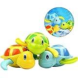 TOYMYTOY 3pcs bebé baño juguetes de natación bañera linda tortuga natación  juguetes 9519b3619727