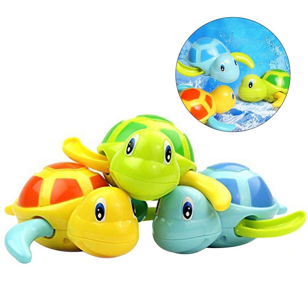 TOYMYTOY pcs bebé baño juguetes de natación bañera linda tortuga natación juguetes
