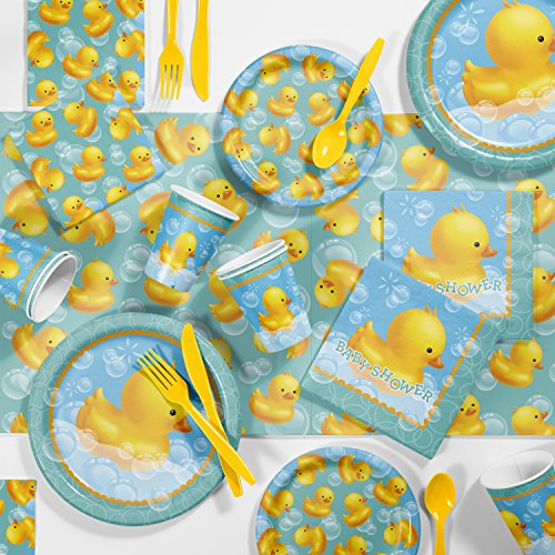 Creative Converting Bubble Bath Rubber Duck Baby Shower Kit -