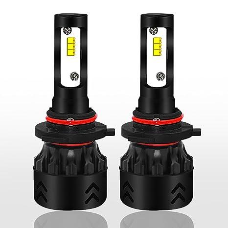 LED Bombillas, Bombillas LED Faros Kit De Conversión 50W 6000K 9600LM Philips Fuente De Luz