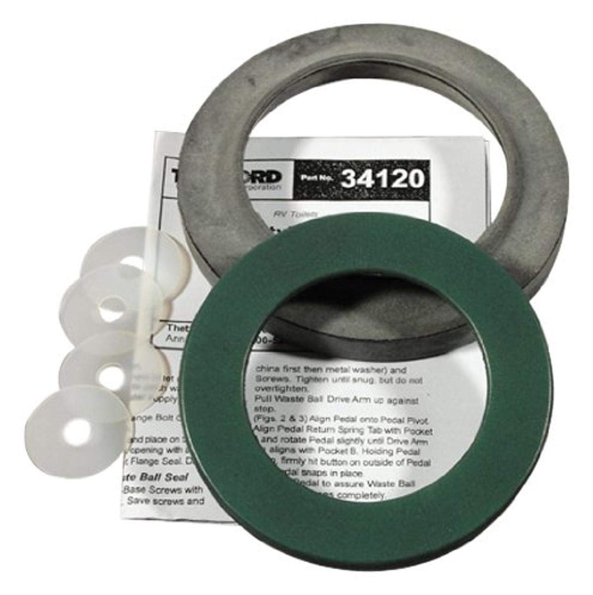 Thetford 34120 Waste Ball Seal for Style II & Style Plus Toilets