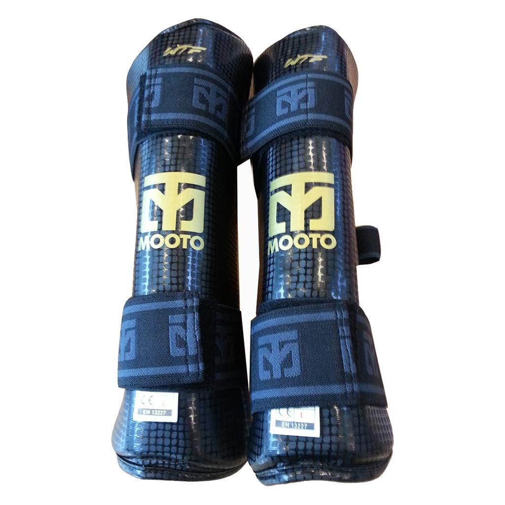 Mooto Extera Shin Protector Guard Wtf Approved Tkd Martial Arts Mma Kick Boxing