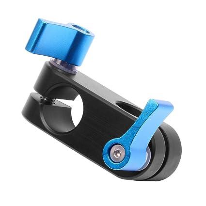 Abrazadera para Barra de 15 mm para cámara réflex Digital 5D2 5D3 ...