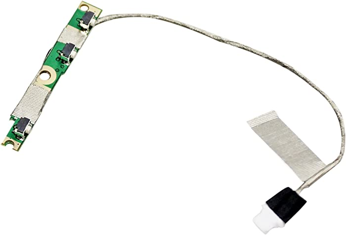 GinTai New Power Button Board W/Cable Replacement for Dell Inspiron 5568 7568 7569 7778 7779 13 5368 5378 5379 5578 7375 7368 7378 P69G 3G1X1 450.07R0A.0002 85GTT I7378-5564GRY-PUS I7368-0027