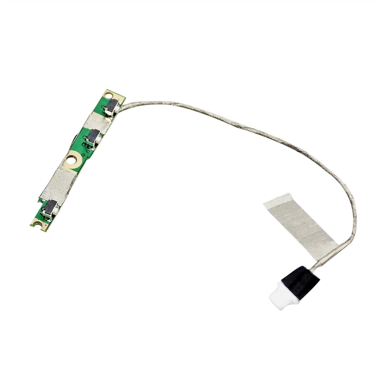 Placa Del Boton De Encendido Con Cable Para Dell Inspiron