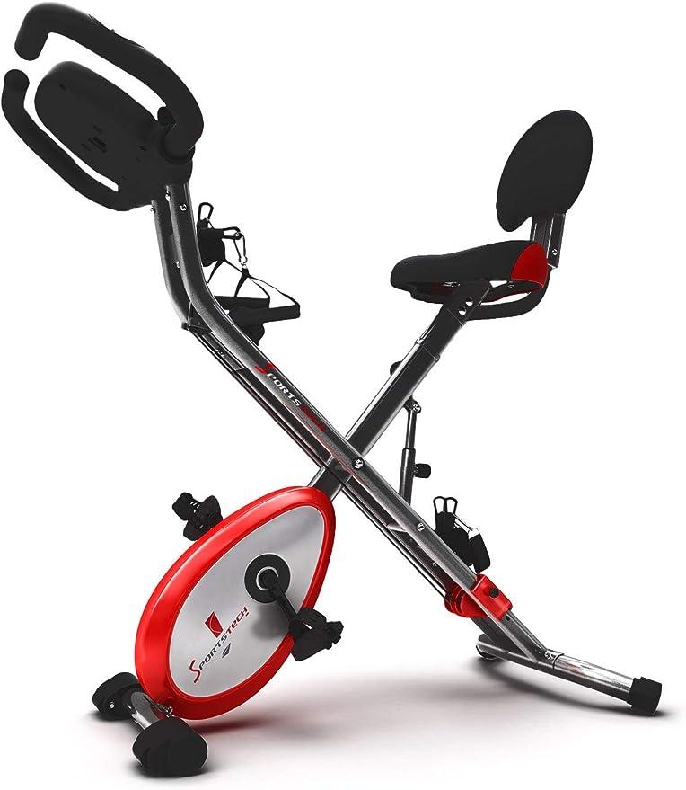 Sportstech X150 X Bike - Bicicleta estática 4 en 1 con aplicación ...