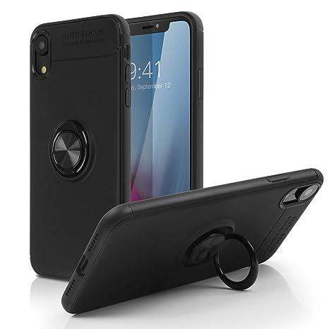 iphone xr coque avec anneau