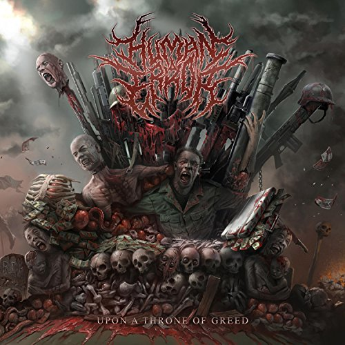 Upon A Throne Of Greed Explicit By Human Error On Amazon