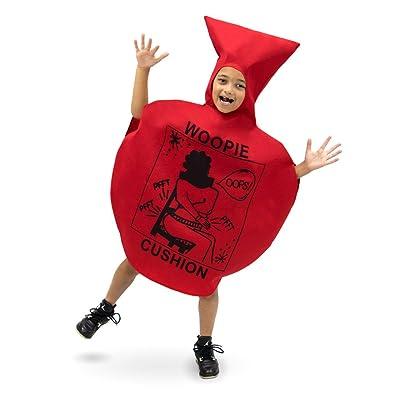 Woopie Cushion Children's Halloween Costume - Red Tootin' Balloon Suit: Clothing