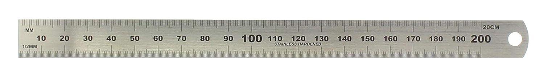 Hedue B102 Regla de acero 20 cm