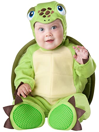 Amazon.com: InCharacter Baby\'s Tiny Turtle Costume: Clothing