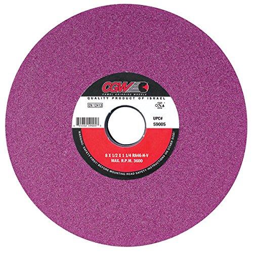 CGW-Camel 34634 7x 1//2x 1-1//4 RA46-J//K-V Type 01 Ruby Grinding Wheel