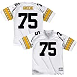 Pittsburgh Men's Stitched Joe Collectibles Size Sports Amazon Mean Jersey New Xl Black Greene No Brands logos Football com Unsigned Custom