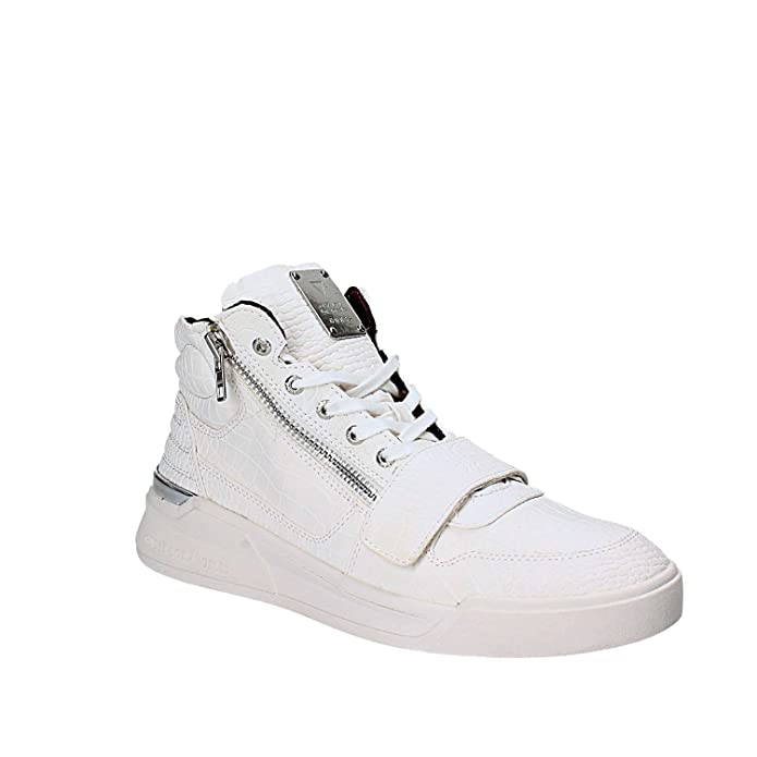 Guess FMKNB4 ELE12 Sneakers Uomo Bianco 44 udw6J8COi
