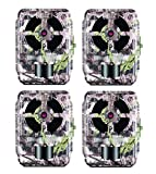 Primos 12MP Proof 46 Matrix Trail Camera (Low Glow) - Set of 4