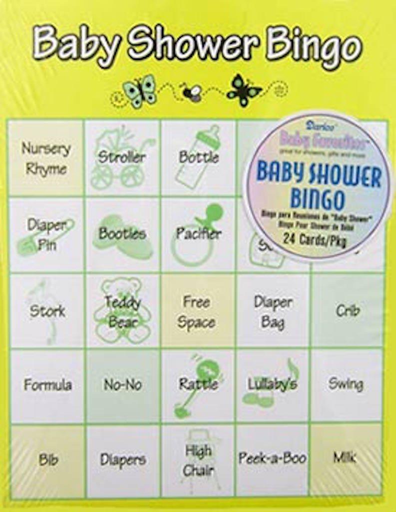 Marvelous Amazon.com: Darice Baby Shower Bingo Game, 24 Piece: Arts, Crafts U0026 Sewing