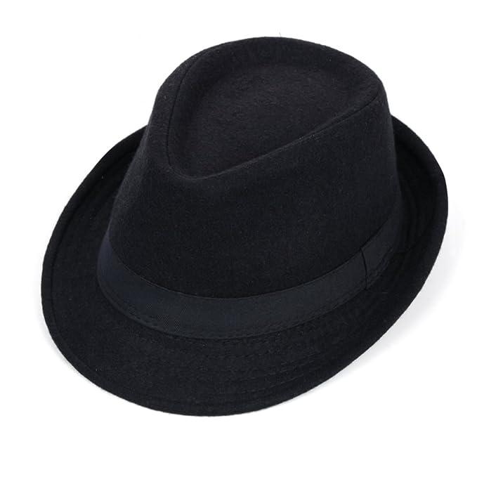 c35baf30bcf88 Sombreros Pequeños Sombrero De Las Lanas No Jazz Etapa Del Casquillo Del-