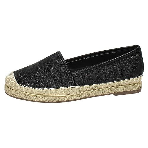 Zapato DE Mujer XTI TENTATIONS Plano Yute Oro: Amazon.es: Zapatos y complementos