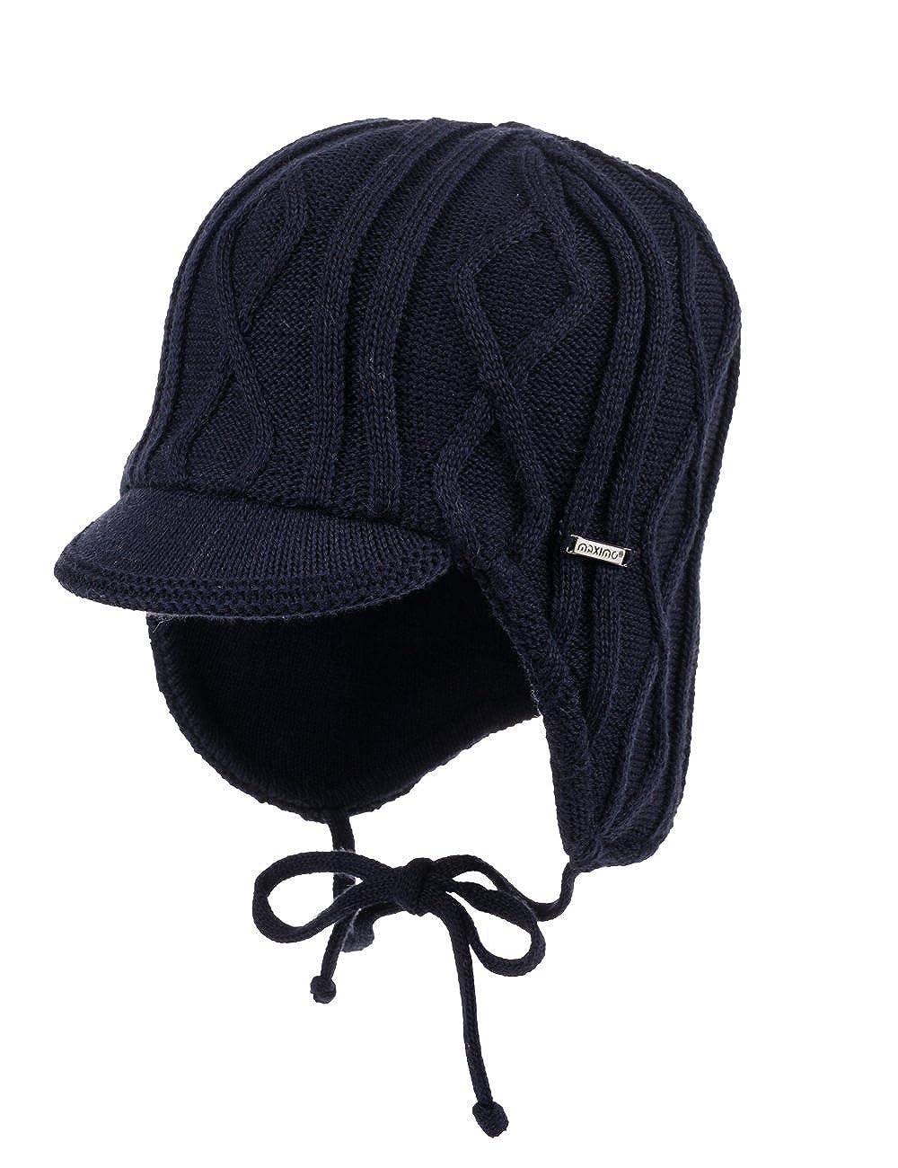 maximo Jungen Mütze mit Dach 54578-187700