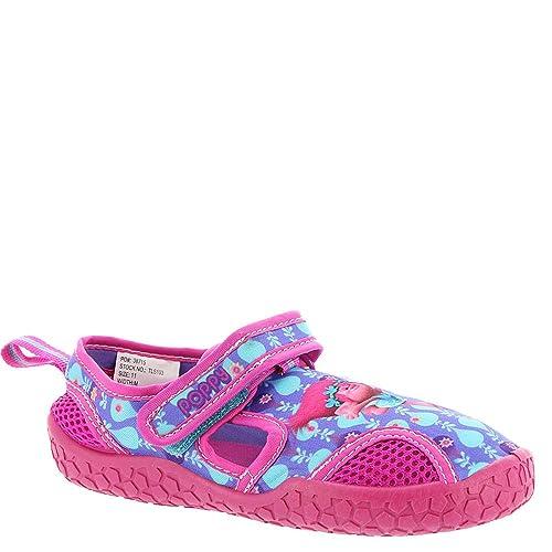 Amazon.com: Trolls Niñas Aqua calcetines zapatos de agua ...